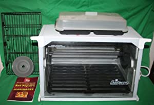 Showtime 6000 Deluxe Professional Rotisserie and BBQ