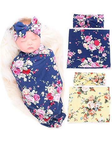Regalo de baby shower 47x47 Envolturas de muselina para beb/és Mantas de muselina unicornio lindas Capas dobles Envoltura de envolturas para beb/és