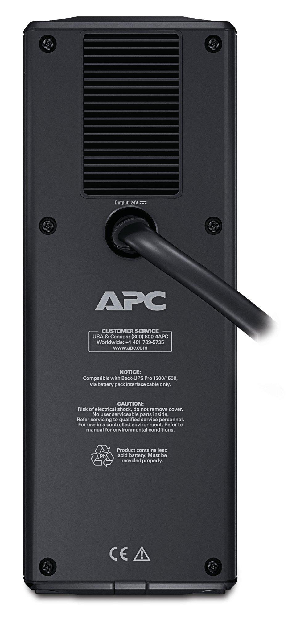 APC External Battery Backup Pack for Model BR1500G (BR24BPG) by APC (Image #4)
