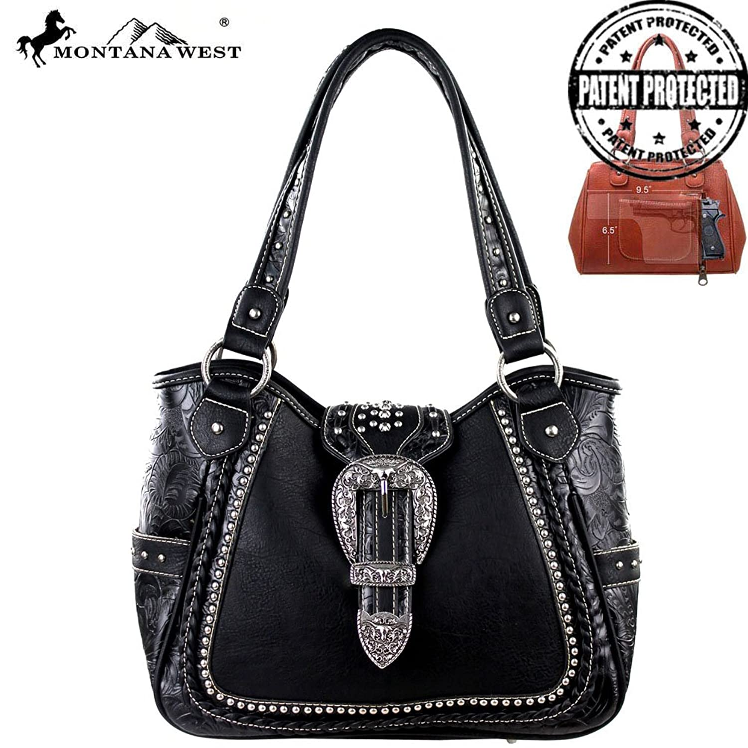MW220G-8110 Montana West Concealed Handgun Collection Handbag
