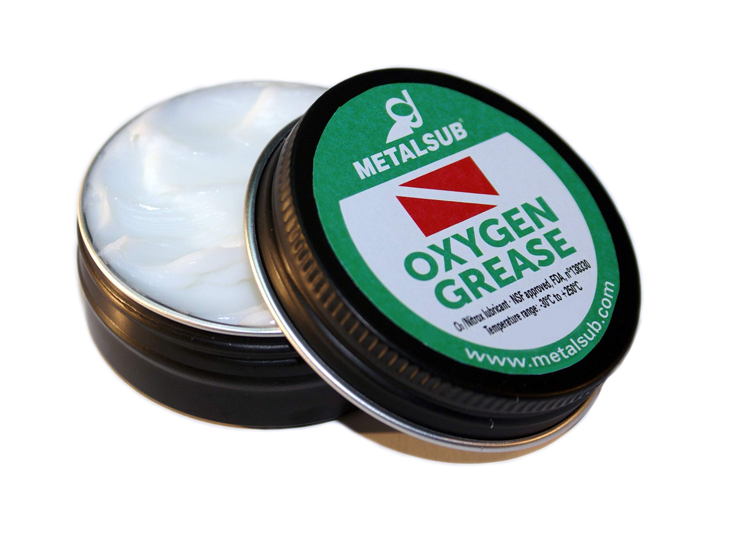METALSUB Grease for Oxygen Applications, nitrox and rebreathers (1 oz / 30 gr)