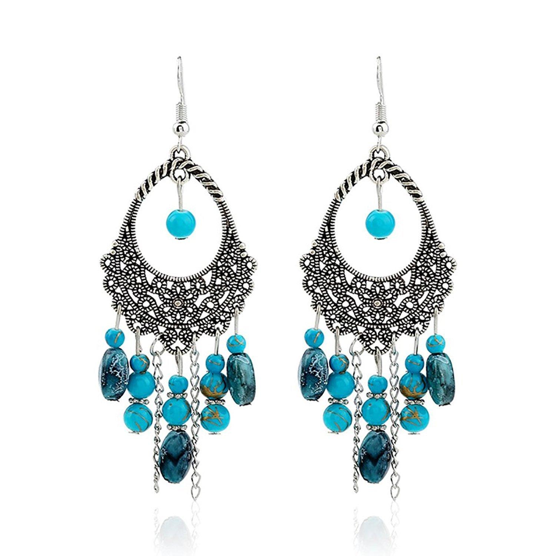 Drop Earrings Considerate Tassel Earrings For Women Ethnic Big Drop Earrings Bohemia Fashion Jewelry Trendy Cotton Rope Fringe Long Dangle