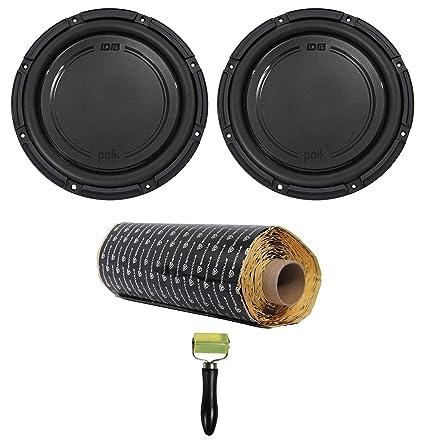(2) Polk Audio DB1242SVC 12 2220 Watt Single 4-Ohm Car Audio Subwoofers