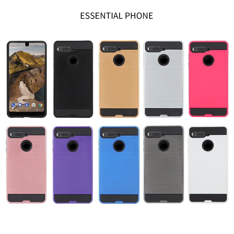 Essential Phone PH-1 Funda, Slim Armor Hybrid Cover [a Prueba de ...