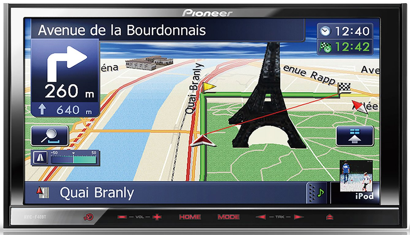 Pioneer AVIC-F40BT GPS Navigation Drivers for Mac Download