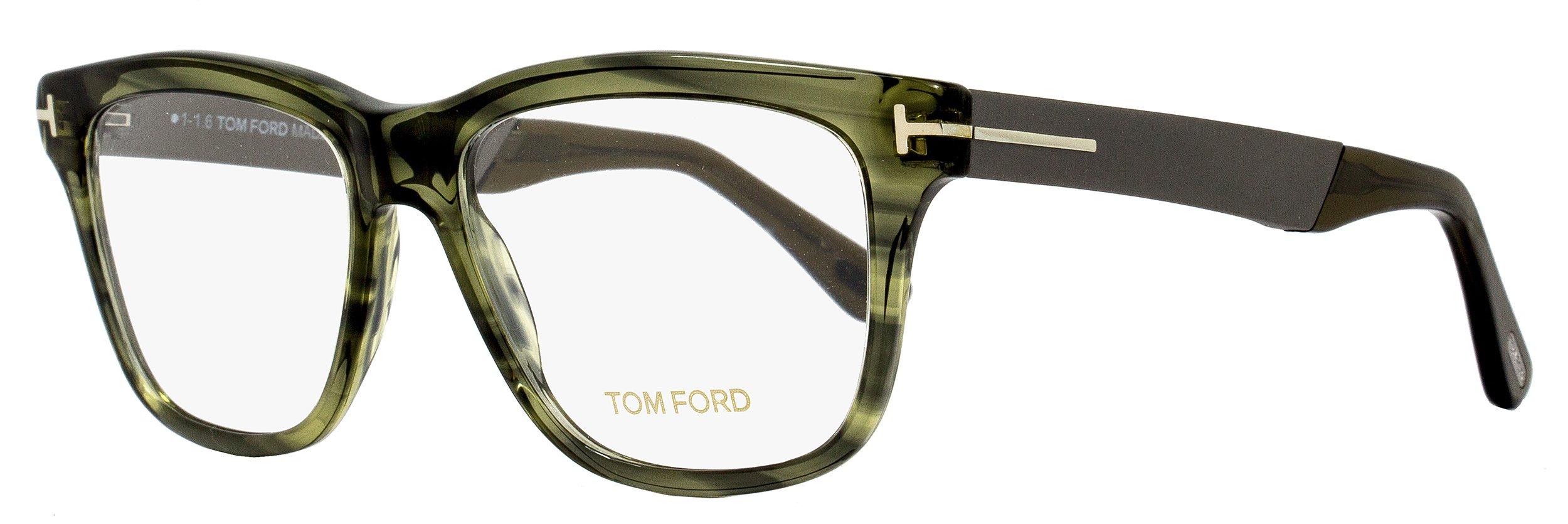 Tom Ford Eyeglasses TF 5372 Eyeglasses 098 Striped Green 54mm by Tom Ford