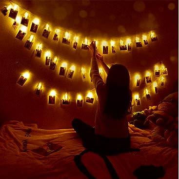 LED Fotoclips Lichterkette, Mr.Twinklelight® Lichterketten
