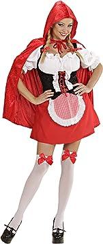 WIDMANN Desconocido Disfraz de Caperucita Roja Sexy Adulto ...
