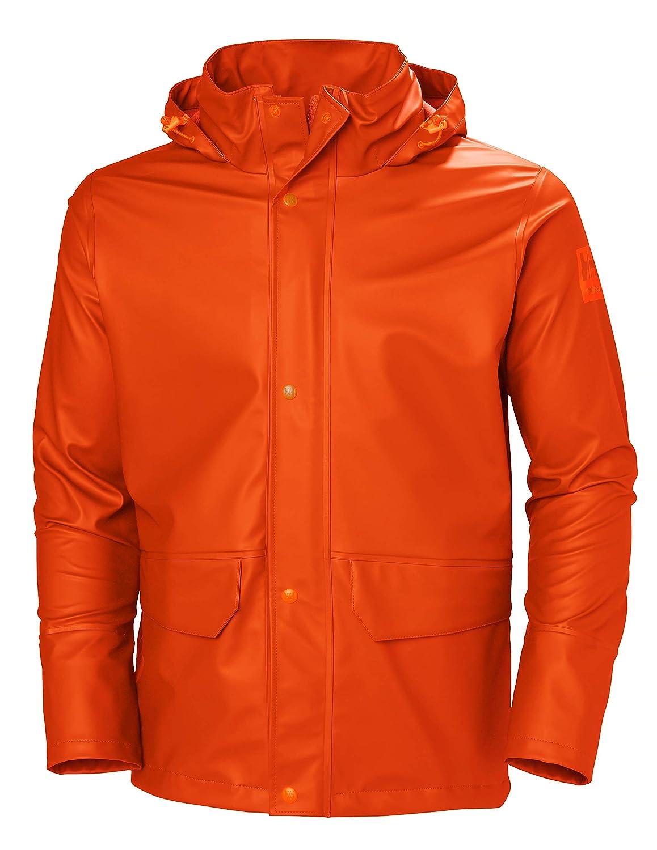 Helly Hansen Mens Gale Waterproof Rain Workwear Jacket