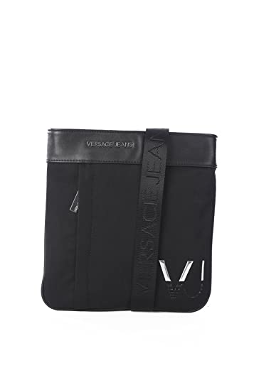 ... Versace EE1YRBB21 Black Messenger for Men best cheap 973d0 8c283  VERSACE  JEANS WOMAN SHOPPING SHOULDER BAG BRONZE CODE E1VOBBW7 ... 3cac9402983e7
