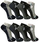 12 Paar Herren Freizeit-Sport Sneaker Socken Füßlinge 39-42 ; 43-46