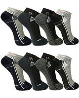 12paia di calze da uomo Sport Tempo libero Sneaker fuesslinge cotone 39-42; 43-46-bestsale247