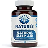 Premium Natural Sleep Aid for Adults - Effective Relief - Non Habit Forming - Wake Up Feeling Refreshed - Proprietary…