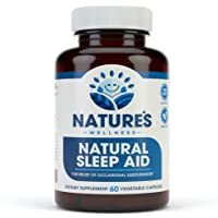 Premium Natural Sleep Aid for Adults - Effective Relief - Non Habit Forming - Wake...