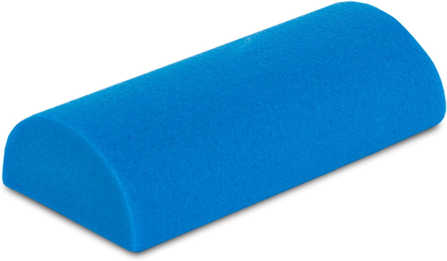 "ProsourceFit Flex Foam Half-Round Rollers 12"" for Muscle Massage, Physical Therapy, Core & Balance Exercises Stabilization, Pilates, Blue : Exercise Foam Rollers : Sports & Outdoors"