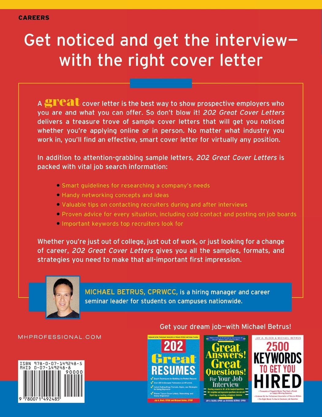 great cover letters for career changers