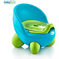 BabyJem Tonton Lazımlık Potty, Mavi/Yesil