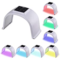 YOURFUN PDT 7 in 1 LED Beauty Mask Photon Light Skin Rejuvenation Therapy Facial Skin Care Machine