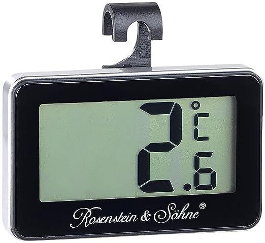 Rosenstein & Söhne - Termómetro digital para congelador & Combi ...