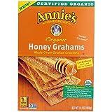 Annies Homegrown Organic Honey Graham Cracker, 14.4 Ounce - 12 per case