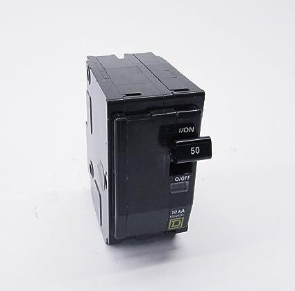 SCHNEIDER ELECTRIC Miniature Circuit Breaker 120V 20A QO120DF Switch Unfused Hd