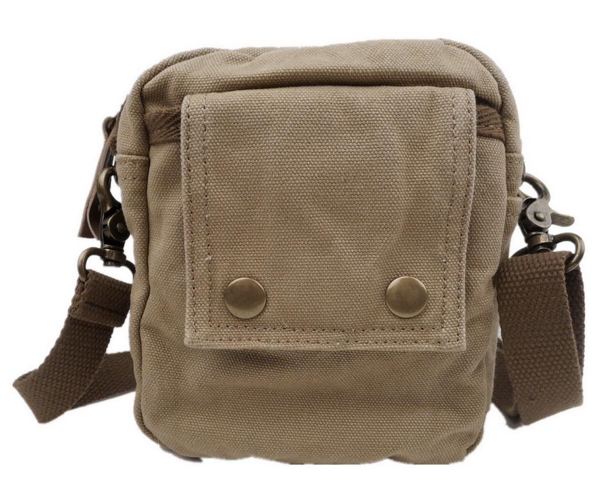 Vintage Cotton Canvas 6.7 100/% Cotton Canvas Sports Waist Bag C37.GRN