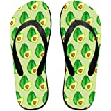 57d9c12dbcbdcc Avocado And Half Of Avocado Unisex Fashion Beach Slipper Indoor And Outdoor  Classical Flip Flops Thong