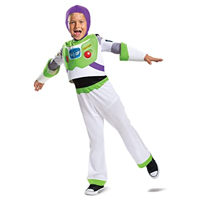 Buzz Lightyear Classic Toy Story 4 Child Costume, S (4-6): Toys & Games