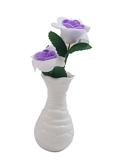 Buy Inditradition Artificial Flower Set Cum Aroma Diffuser With