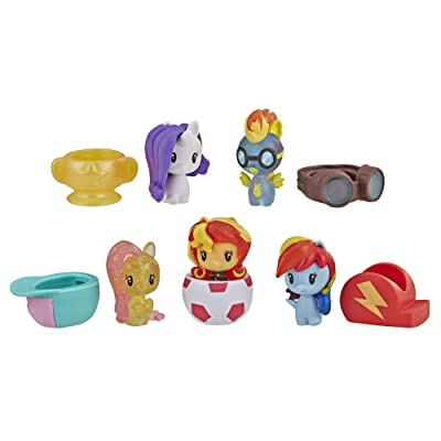 My Little Pony Cutie Mark Crew Series 3 You're Invited Championship Party 5-Pack Toys: Toys & Games