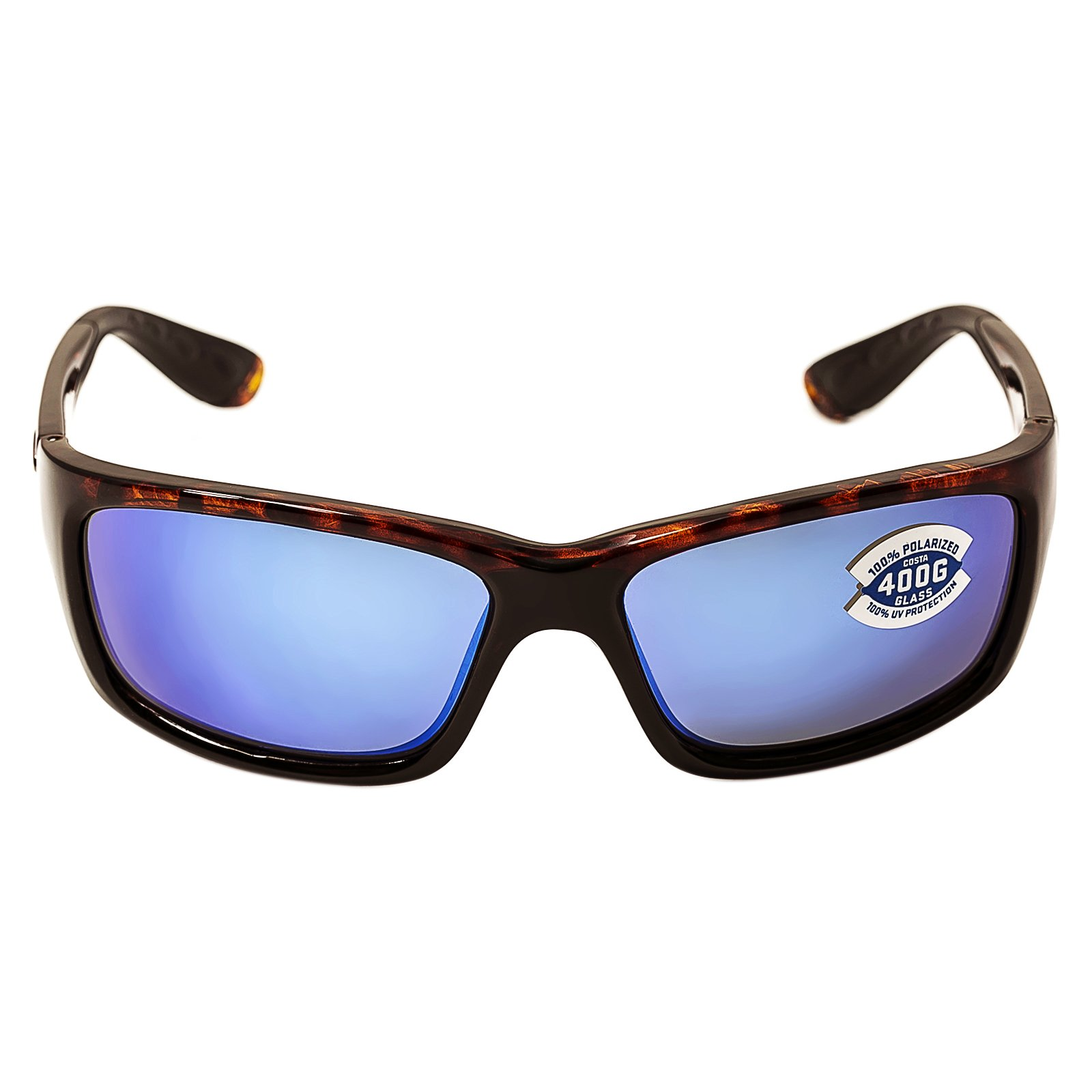 fc2ce1a28df9a Costa Del Mar Sunglasses - Jose- Glass   Frame  Tortoise Lens  Polarized Blue  Mirror Wave 400 Glass