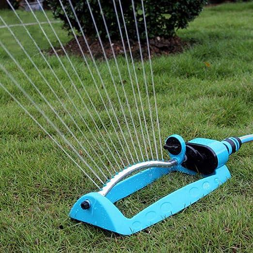MuZhuo - Aspersor automático para césped de jardín, 180 Grados, Herramienta de riego de Agua: Amazon.es: Jardín