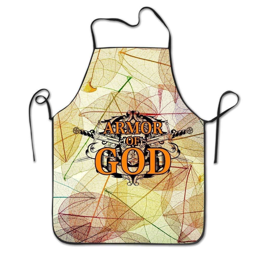 Siwbko Armor of God Christian Kitchen Cooking BBQ Apron by Siwbko
