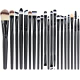 Amazon Price History for:EmaxDesign 20 Pieces Makeup Brush Set Professional Face Eye Shadow Eyeliner Foundation Blush Lip Makeup Brushes Powder Liquid Cream Cosmetics Blending Brush Tool