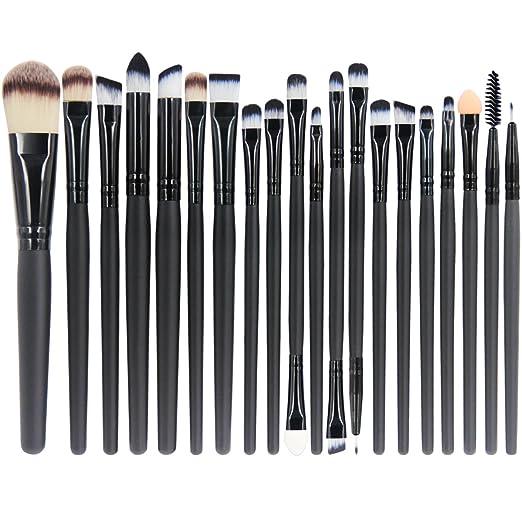 149 opinioni per EmaxDesign 20 pezzi-Set di pennelli professionali per trucco, volto ombretti e