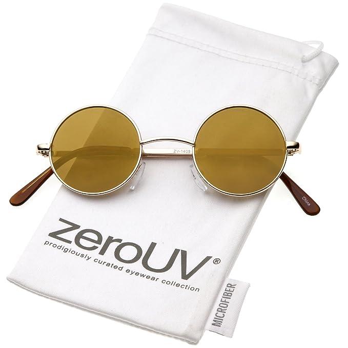 Amazon.com: zeroUV – Lennon estilo redonda pequeña color ...