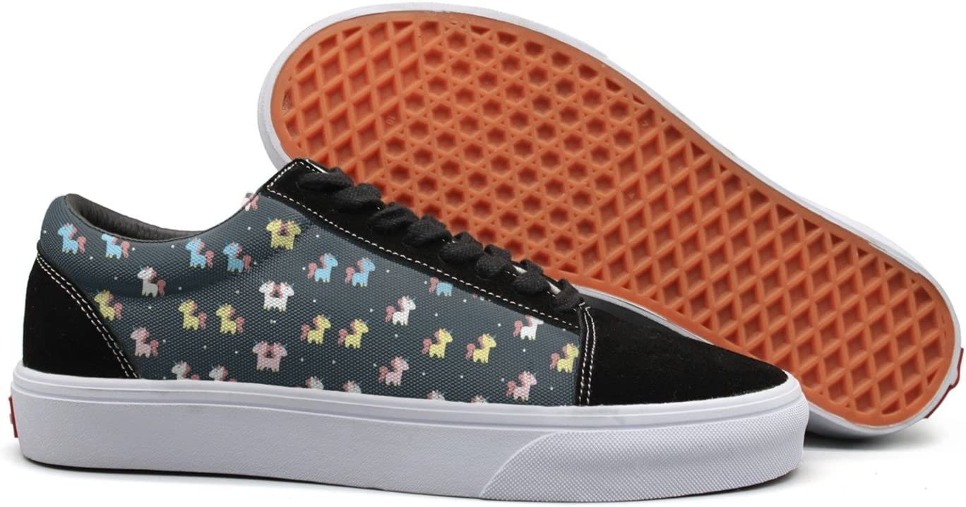 seventtynine Unicorn Love Womens Casual Sneaker Lace Up Shoe
