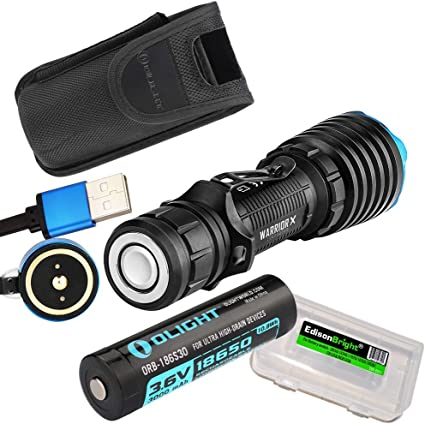 5 Years Warranty 2000LM Rechargeable Tcatical Flashlight Olight Warrior X