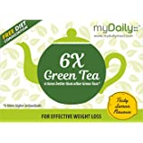 myDaily 6 Times Better Green Tea With 6 Times Higher Antioxidants For Effective Weight Loss (25 Sachets)