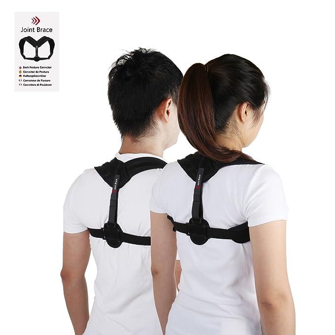 Corrector de Postura de Espalda Mujeres Hombres, mejorar el jorobado, cifosis, sentado de la computadora, alineación del hombro, alinee su espalda, ...