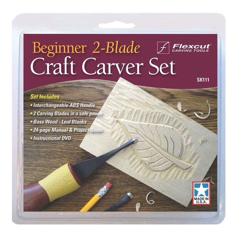 Flexcut Flexcut f/ünf St/ück Handwerk Carver Set