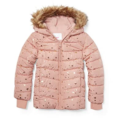 ee07befaf Amazon.com: The Children's Place Girls' Puffer Jacket: Clothing