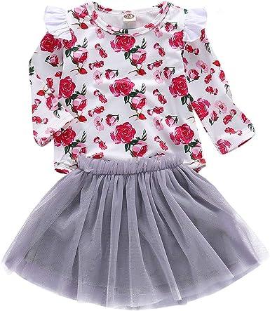 Haokaini Conjunto de Vestido de Camisa de Manga Larga de ...