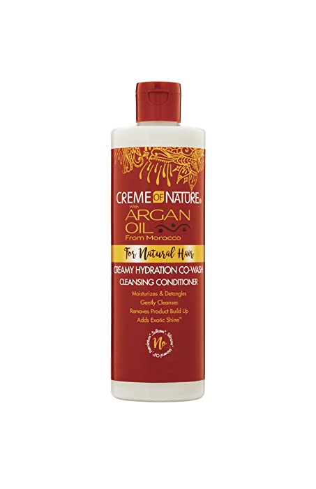 The Best Creme Of Nature Argan Oil Cowash