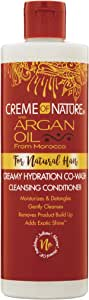 Creme of Nature Pure-Licious Co-Wash Cleansing Conditioner, 12 Ounce