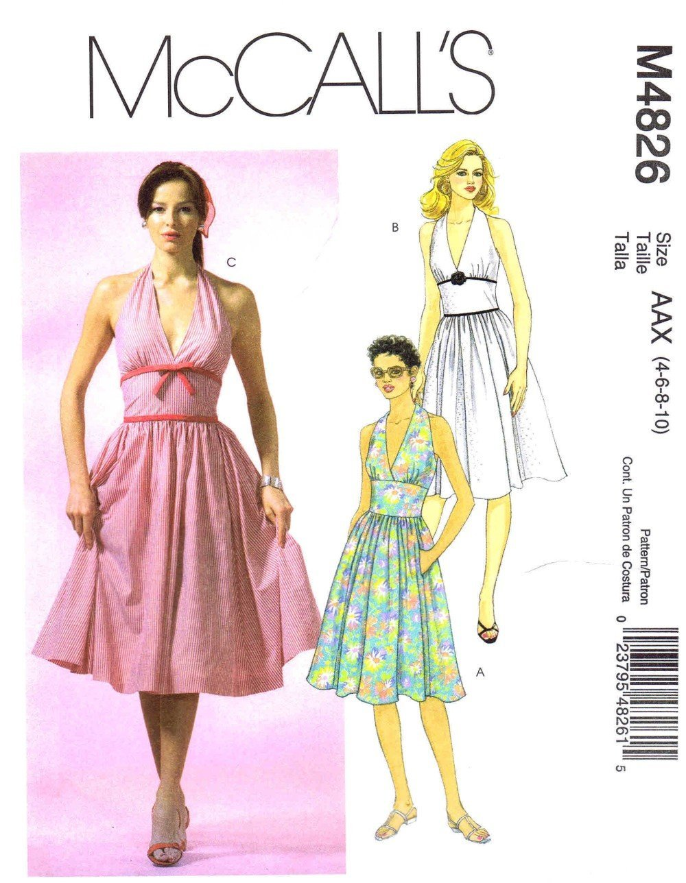 Amazon.com: McCalls M4826: Arts, Crafts & Sewing