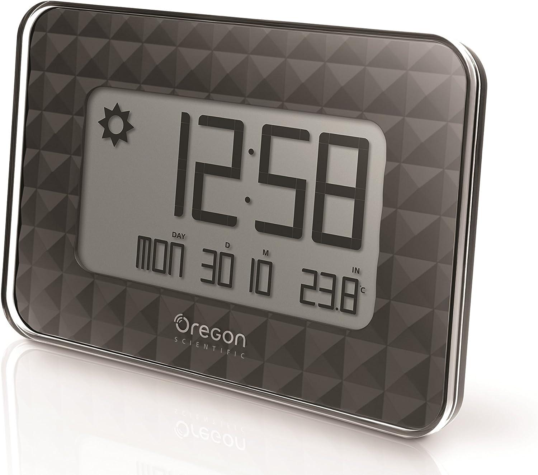 Oregon Scientific JW208_W - Reloj de Pared Digital GLAZE con ...