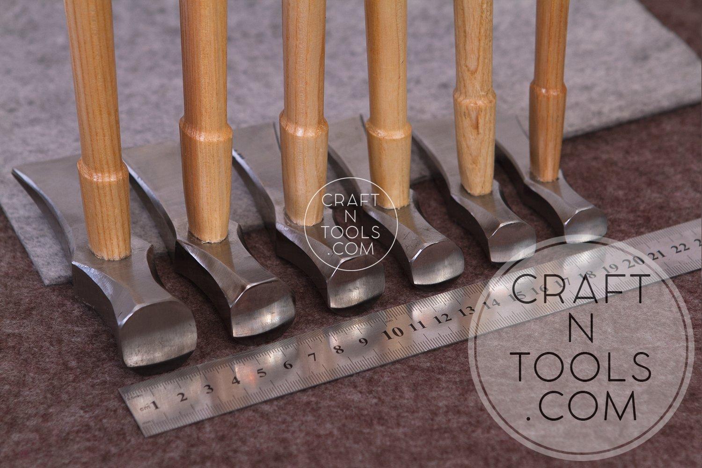 New Vergez Blanchard Saddler Leather Hammer (size 4) by Vergez Blanchard (Image #6)