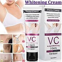 RONSHIN Gifts for VC Underarm Whitening Cream for Bikini Elbow Armpit Knee Dark Area