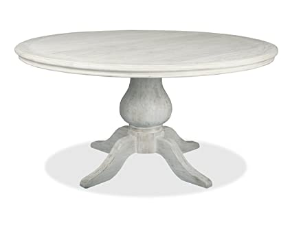 South Cone Home Marseille Round Dining Table 48 Vintage White